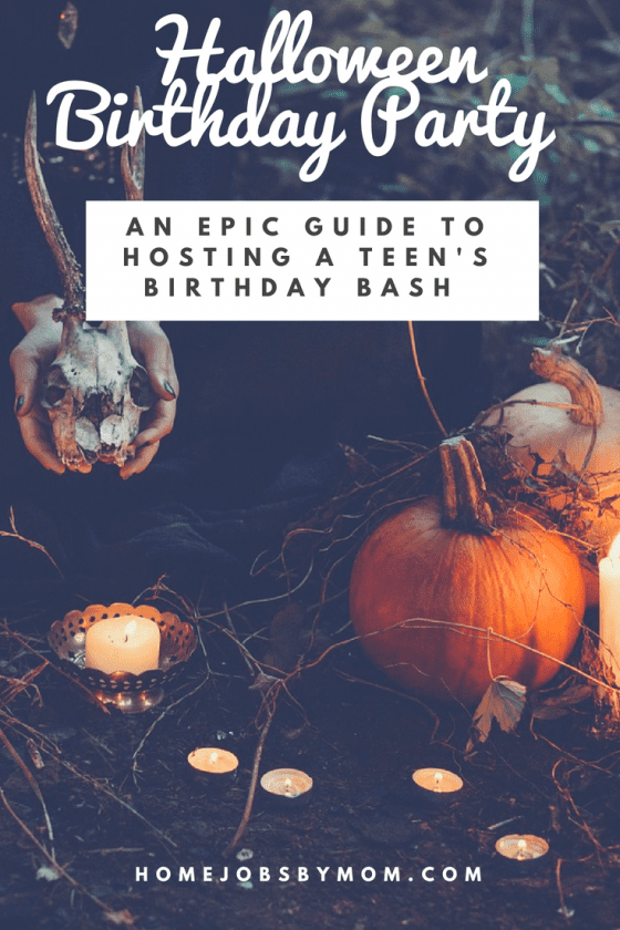how to throw an epic teen halloween themed birthday party