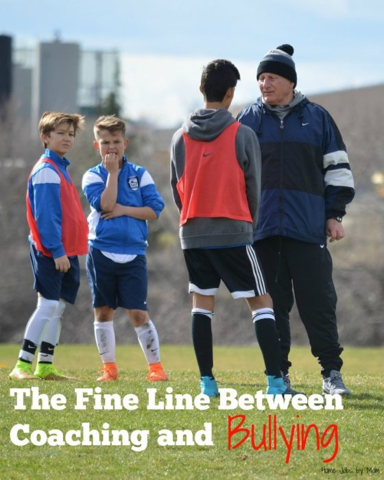 The Fine Line Between Coaching and Bullying