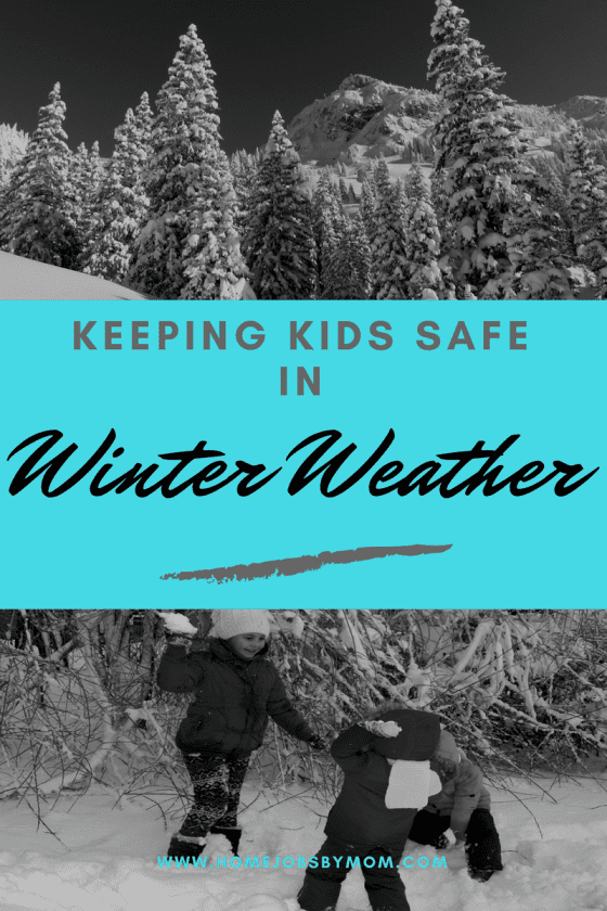 Keeping Kids Safe in Winter Weather