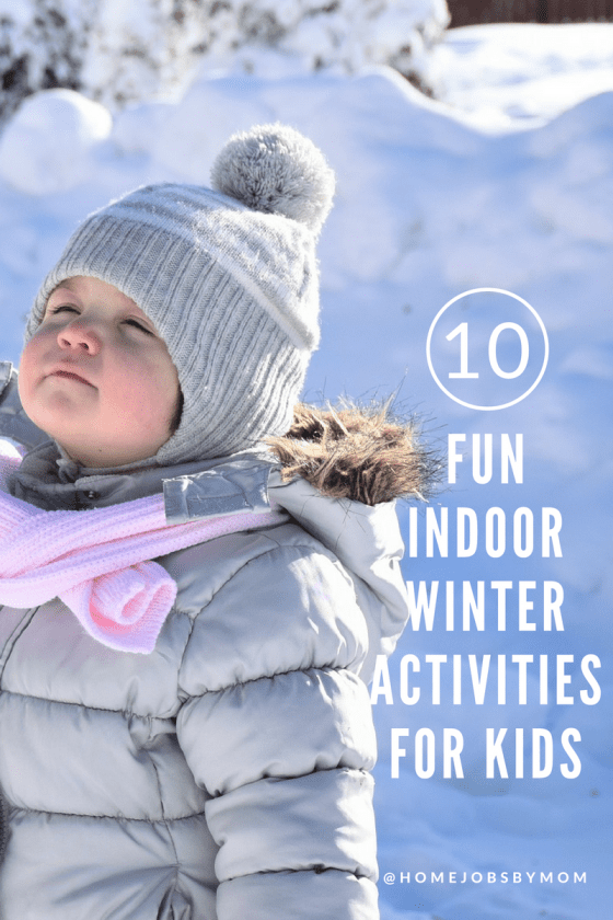 Fun Indoor Winter Activities for Kids