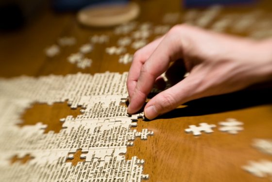 puzzle winter activities for kids