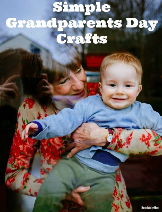 Simple Grandparents Day Crafts