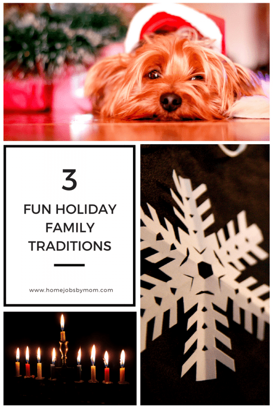 3 Fun Holiday Family Traditions