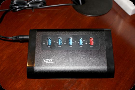 Liztek 4-Port USB Hub with 1 Charger Port Review