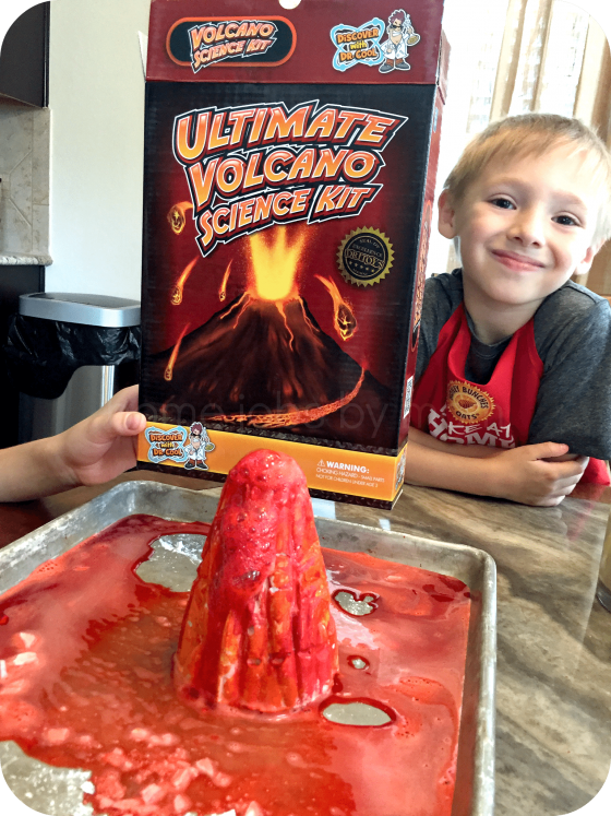 #DiscoverWithDrCool Ultimate Volcano Kit Review