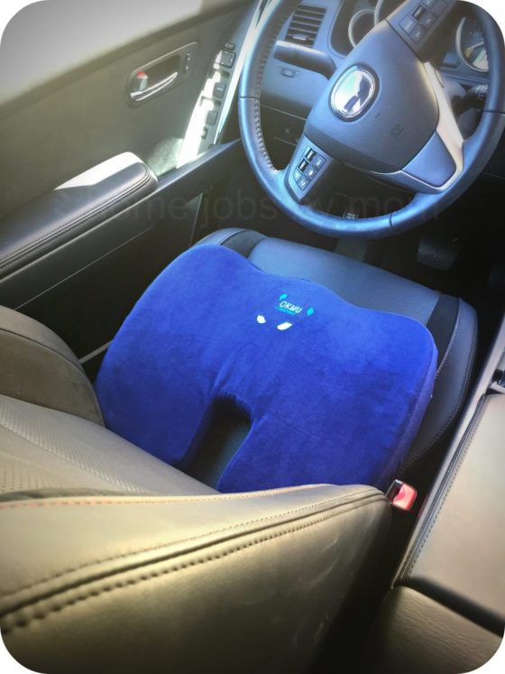 Have a Pain in the A**? | Okwu Comfort Pressure Relief #SeatCushion Review