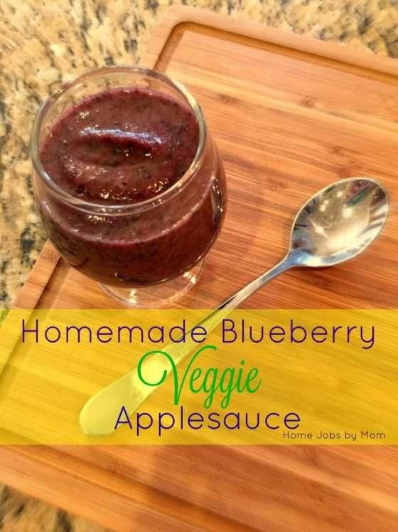 blueberry applesauce