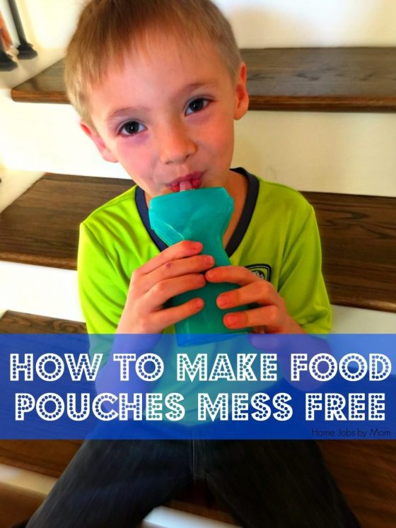 make food pouches mess free