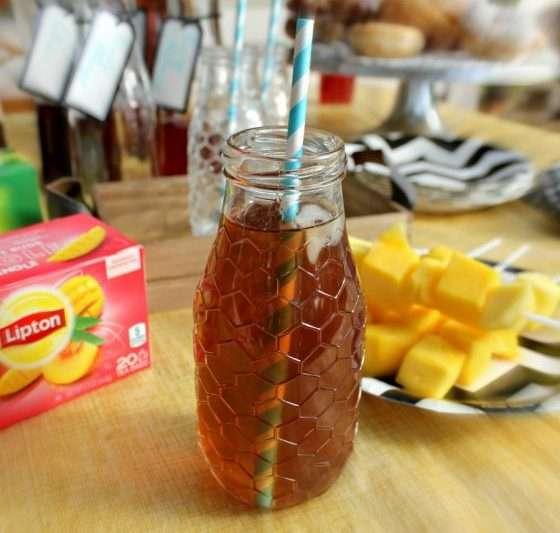 lipton peach mango pin