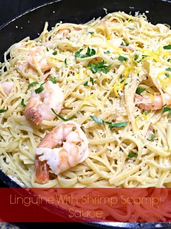 Linguine With Shrimp Scampi Sauce