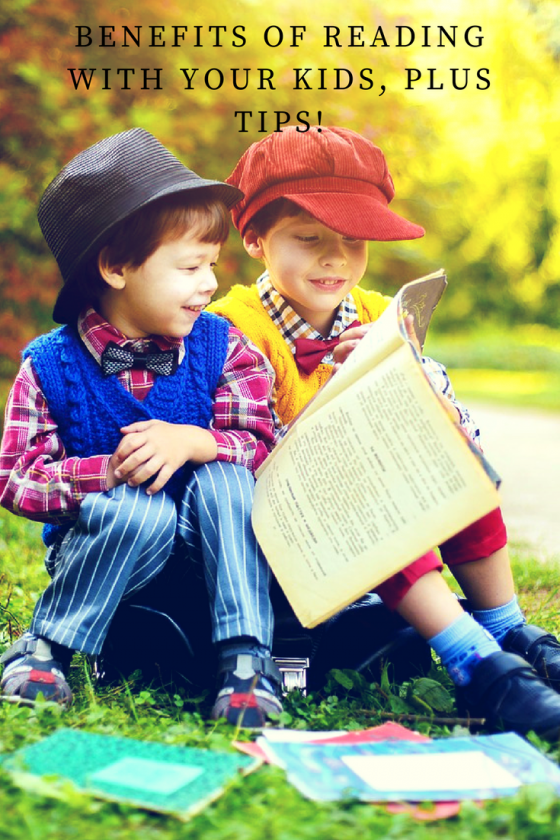 reading, reading with kids, benefits of reading