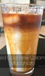 Caramel Macchiato drink