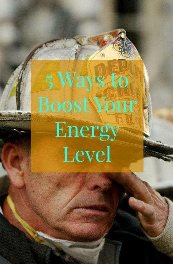 boost energy level
