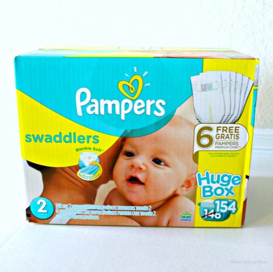 stock up diapers