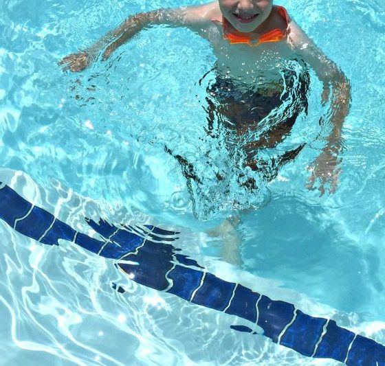 water safety in the pool
