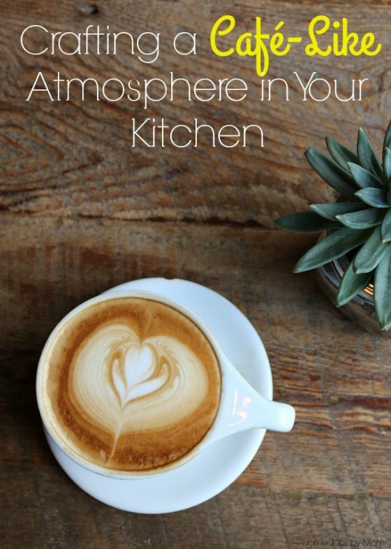Crafting a Café-Like Atmosphere in Your Kitchen