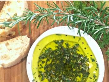 Italian Herb Dipping Oil image