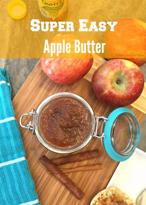 Super Easy Apple Butter Recipe