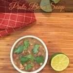 slow cooker pinto bean soup