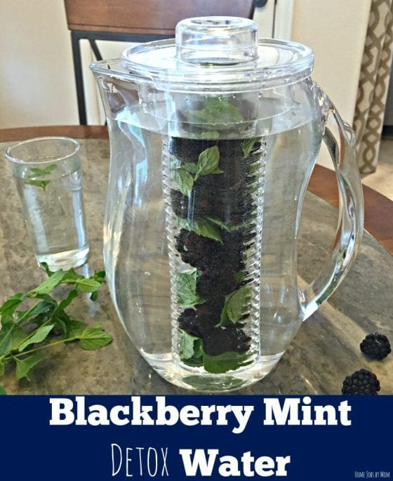 Blackberry Mint Detox Water