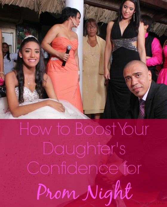 How to Boost Your Daughter's Confidence for Prom Night