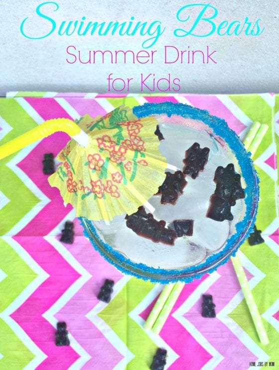 Swimming Bears Summer Drink for Kids final