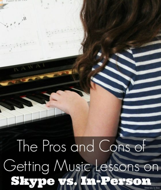 The Pros and Cons of Getting Music Lessons on Skype vs. In-Person
