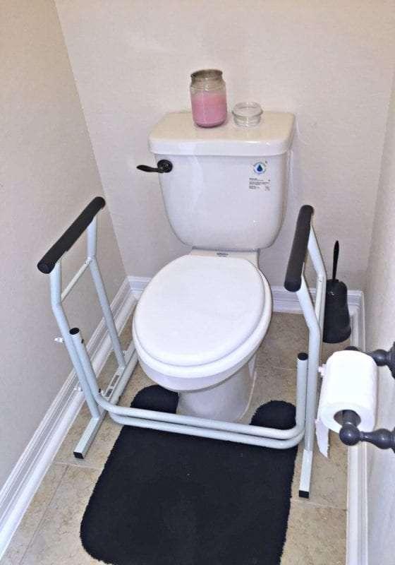 toilet safety shower