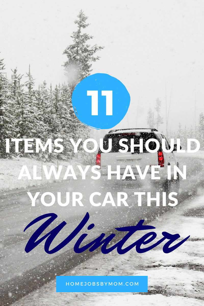 11 Items You Should Always Have in Your Car this Winter