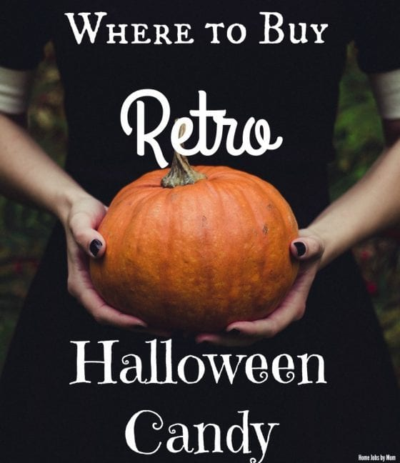 retro halloween-candy