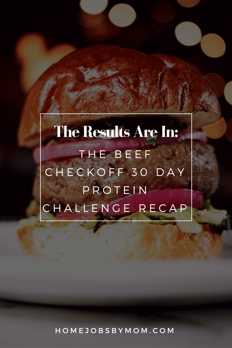 The Beef Checkoff 30 Day Protein Challenge Recap
