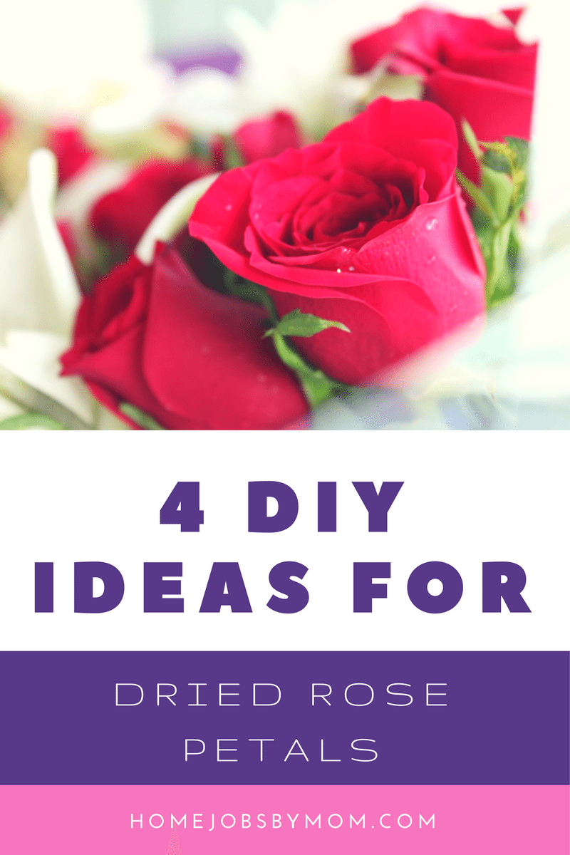 4 DIY Ideas For Dried Rose Petals