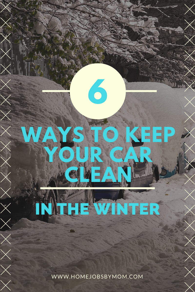 6 Ways to Keep Your Car Clean in the Winter