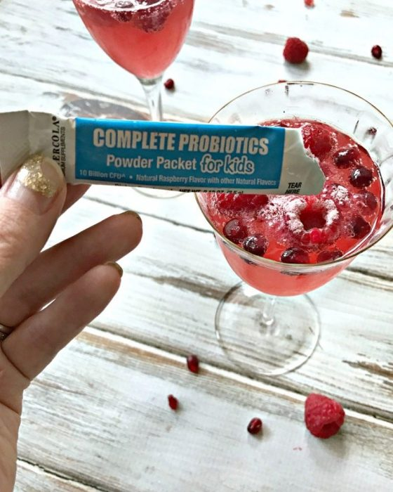raspberry-pomegranate-mocktail-with-probiotic
