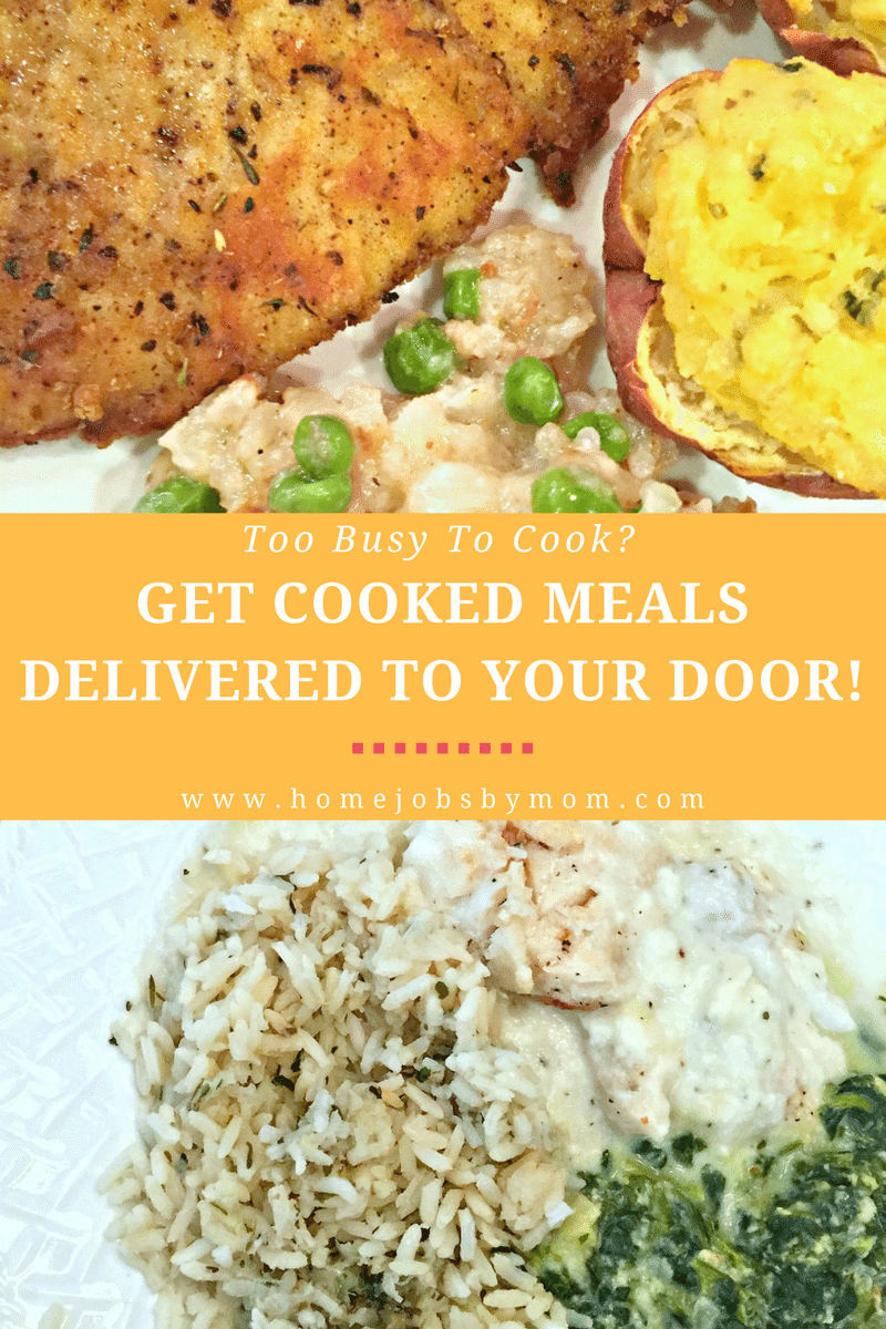 Too Busy To Cook Get Cooked Meals Delivered To Your Door