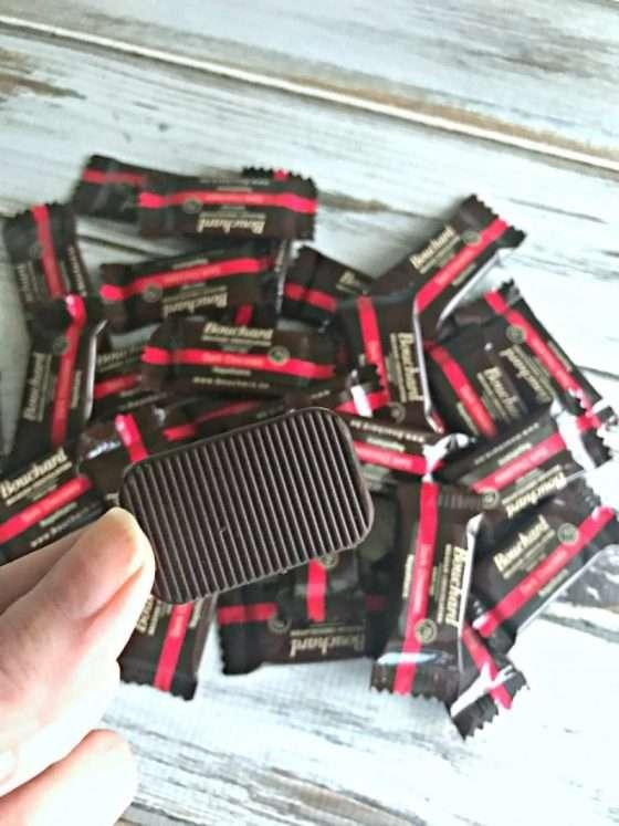 Bouchard chocolate bite