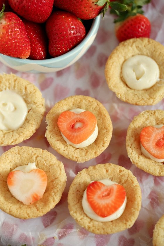 Sugar Cookie Cream Cheese Tarts
