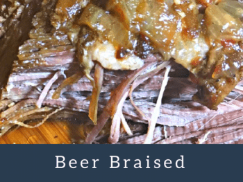 Beer Braised Beef Brisket