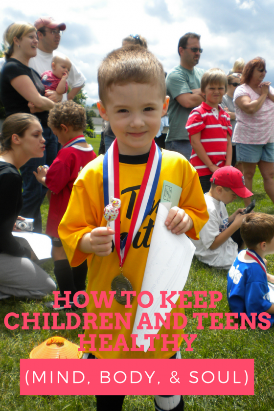 How To Keep Children and Teens Healthy