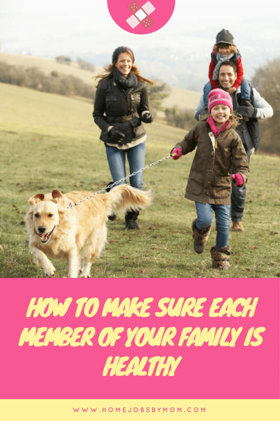 How To Make Sure Each Member Of Your Family Is Healthy