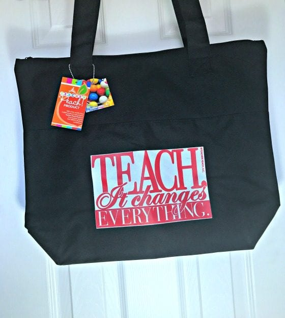 Teach. It Changes Everything. NEW Edition Teacher Tote Bag