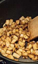 chili pot pie onions