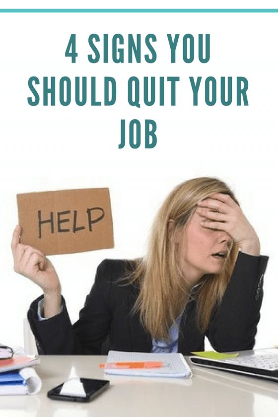 how to know it's time to quit your job