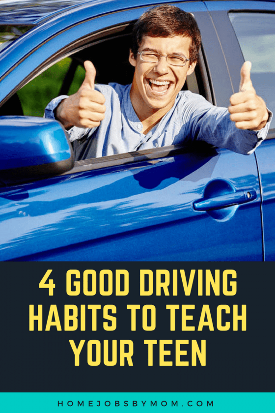 4 Good Driving Habits To Teach Your Teen