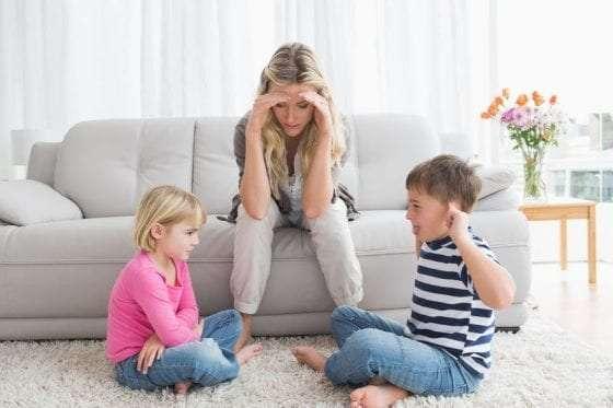 upset mommy