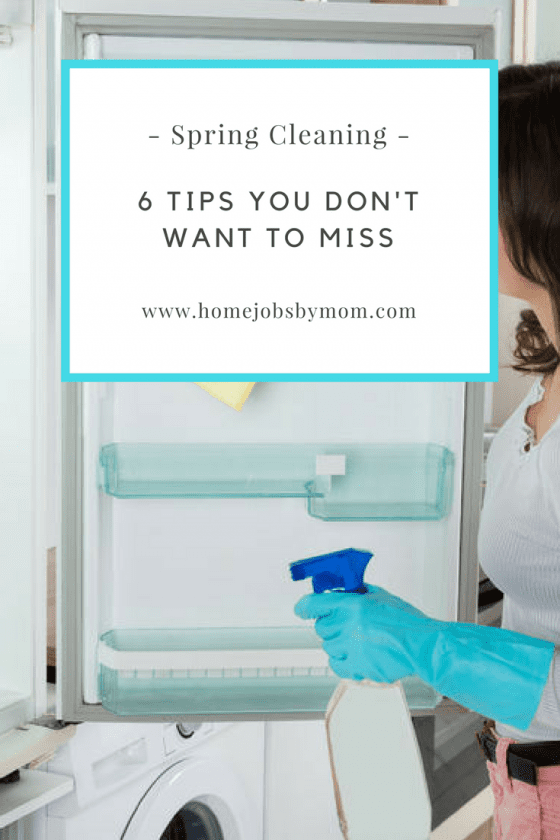 6 Spring Cleaning Tips You Don't Want To Miss