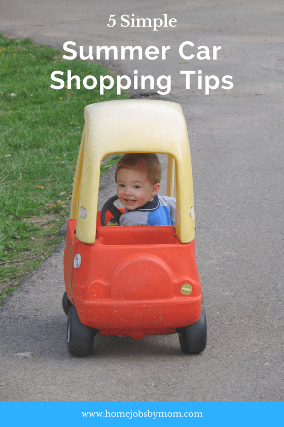car shopping tips, car shopping, summer