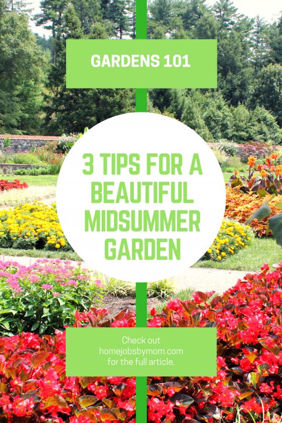 Summer Garden Tips, Summer Garden, Summer Gardening, Summer Garden Flowers, Summer  Gardening
