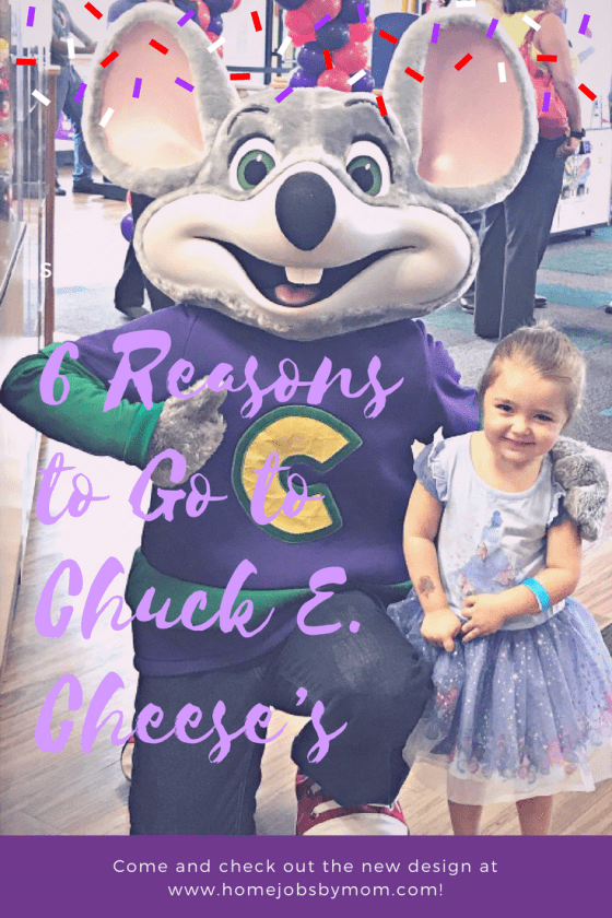 6 Reasons to Go to Chuck E. Cheese's