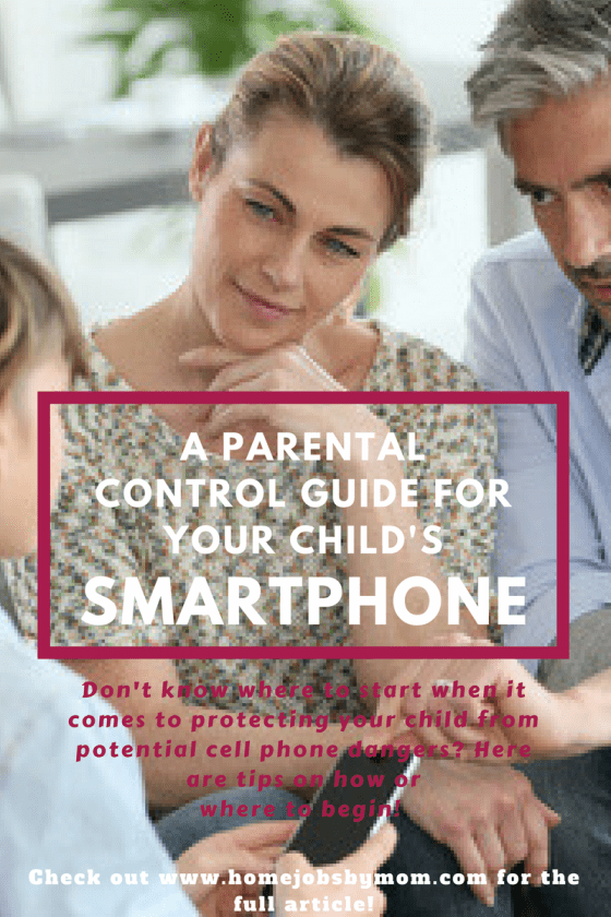 A Parental Control Guide for Your Child's Smartphone